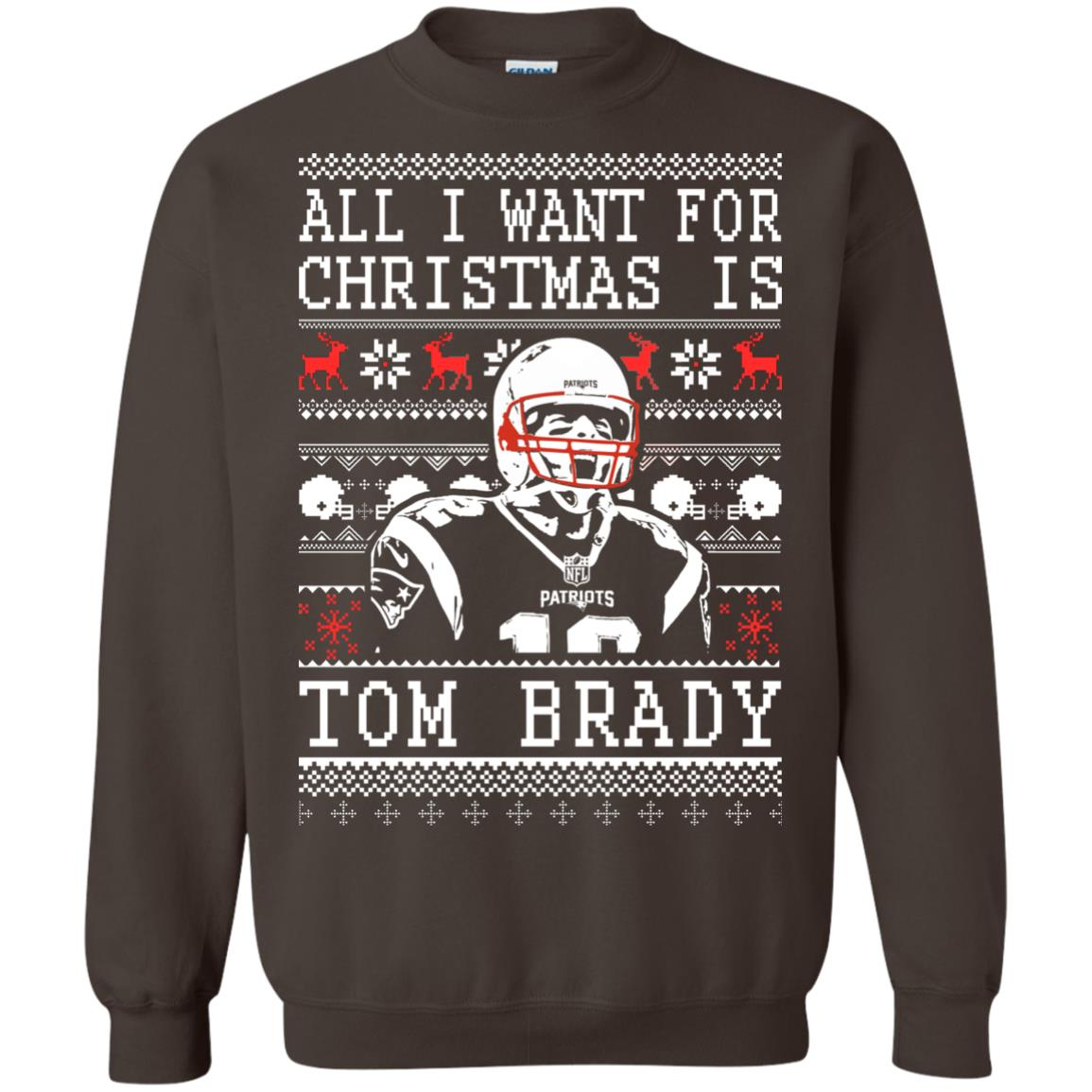 image 1890px All I Want For Christmas Is Tom Brady Christmas Sweater