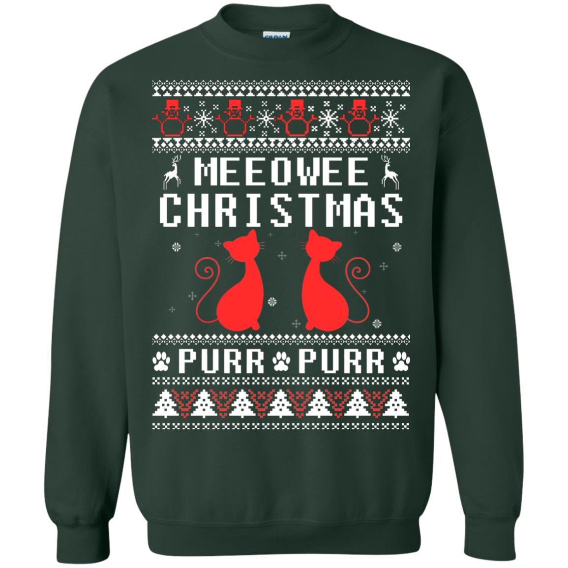 image 1899px Meeowee Christmas Pur Pur Pur Cat Lovers Christmas Sweater
