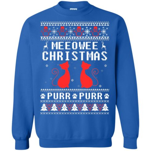 image 1900 490x490px Meeowee Christmas Pur Pur Pur Cat Lovers Christmas Sweater