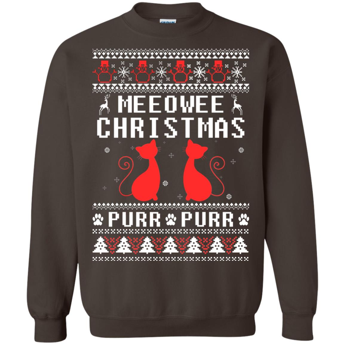 image 1901px Meeowee Christmas Pur Pur Pur Cat Lovers Christmas Sweater