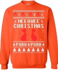 image 1903 247x296px Meeowee Christmas Pur Pur Pur Cat Lovers Christmas Sweater
