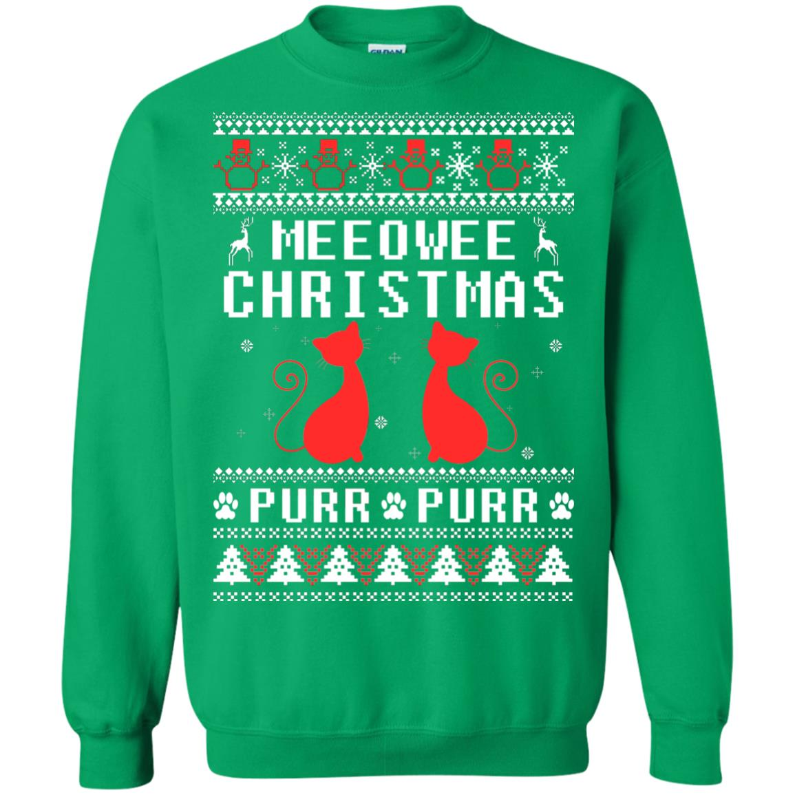 image 1904px Meeowee Christmas Pur Pur Pur Cat Lovers Christmas Sweater