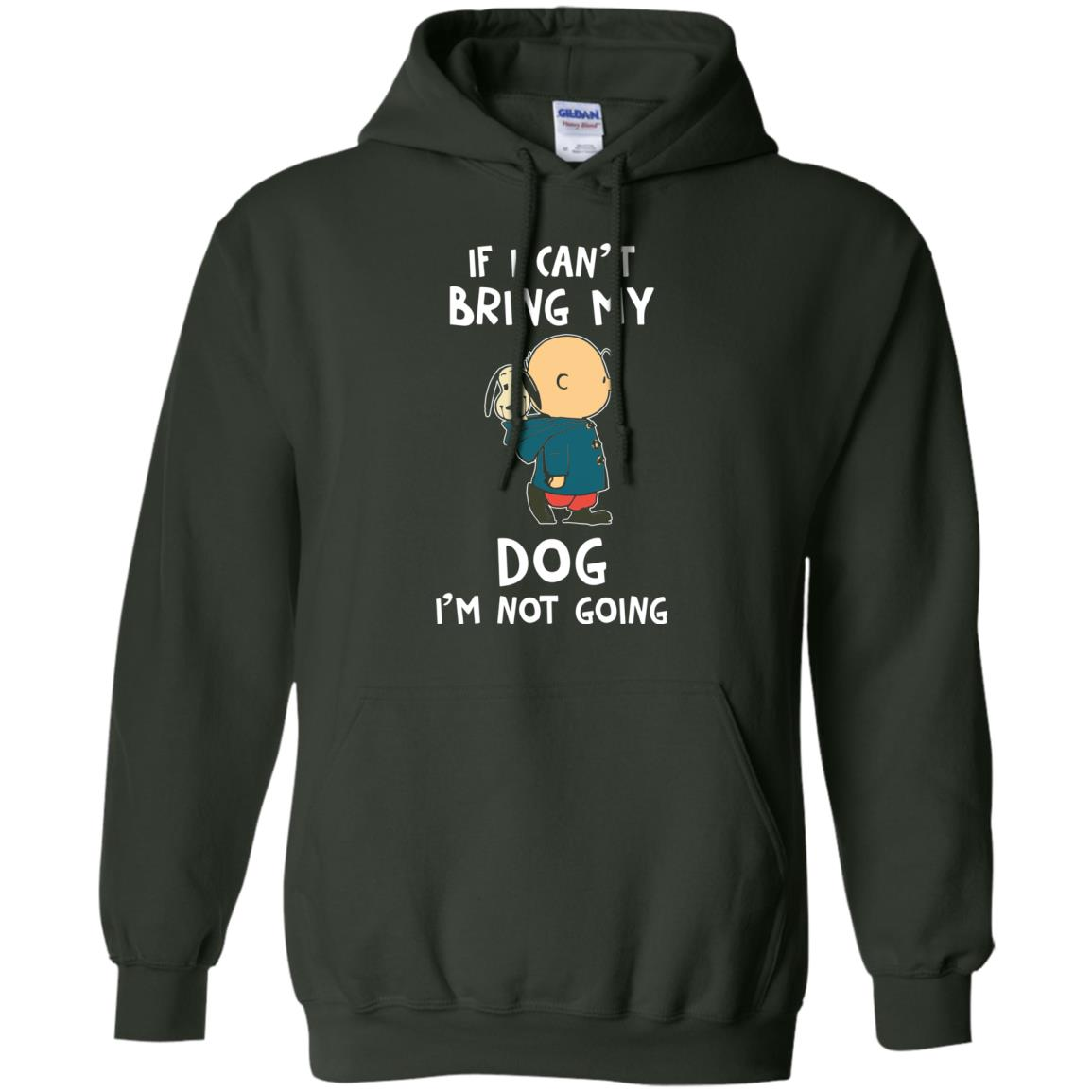 image 202px Snoopy and Charlie Brown If I Can't Bring My Dog I'm Not Going T Shirts, Hoodies