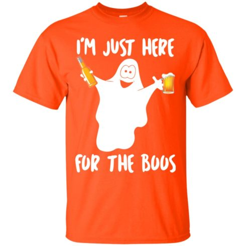 image 209 490x490px Halloween Shirt I'm Just Here For The Boos T Shirts, Hoodies