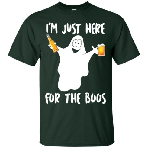 image 210 490x490px Halloween Shirt I'm Just Here For The Boos T Shirts, Hoodies