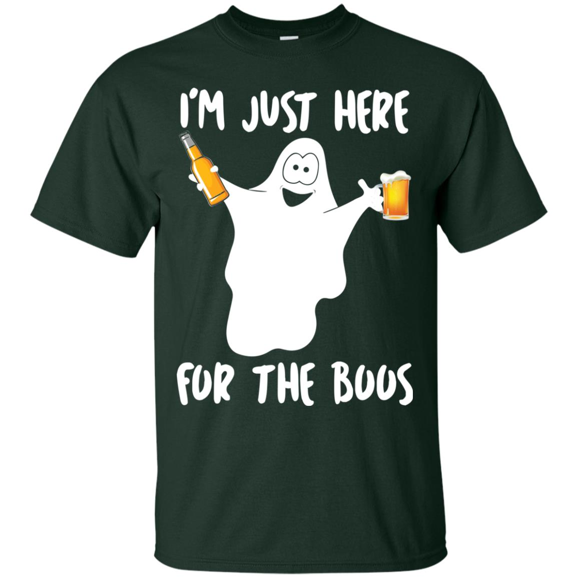 image 210px Halloween Shirt I'm Just Here For The Boos T Shirts, Hoodies