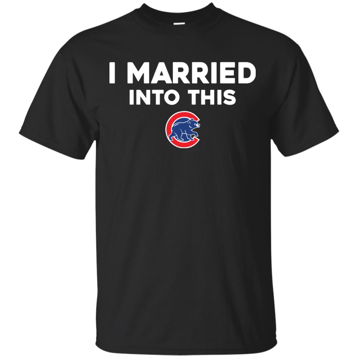 image 22px Chicago Cubs: I Married Into This T Shirts, Hoodies, Tank Top
