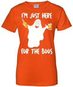 image 220 247x296px Halloween Shirt I'm Just Here For The Boos T Shirts, Hoodies