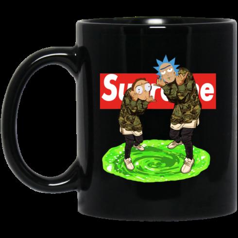 image 23 490x490px Rick and Morty Supreme Coffee Mug & Beer Stein