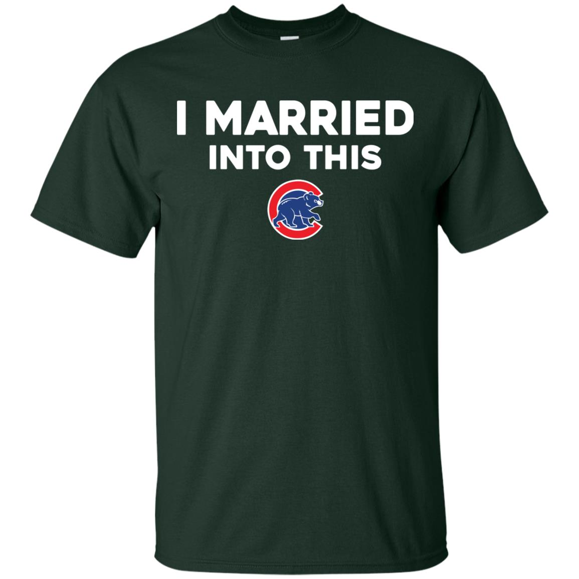 image 23px Chicago Cubs: I Married Into This T Shirts, Hoodies, Tank Top