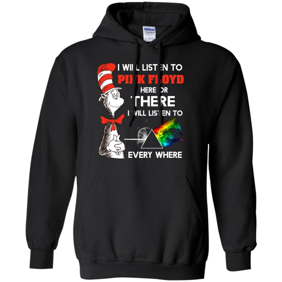 image 238px Dr Seuss I Will Listen To Pink Floyd Here Or There I Will Listen To Every Where T Shirts, Hoodies
