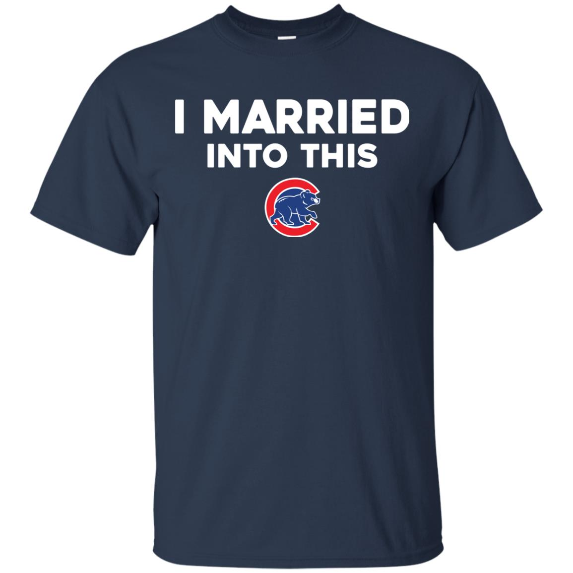 image 24px Chicago Cubs: I Married Into This T Shirts, Hoodies, Tank Top