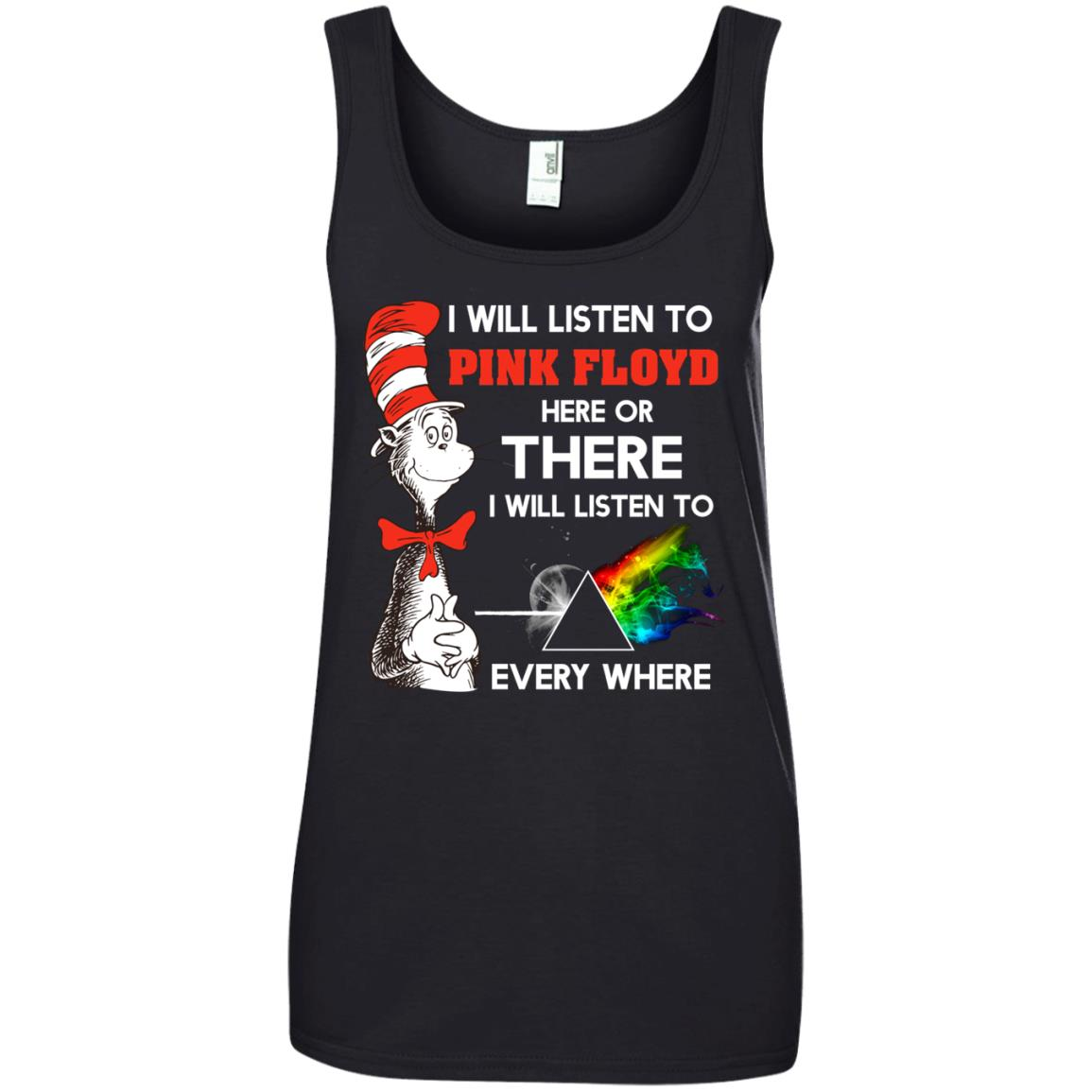 image 241px Dr Seuss I Will Listen To Pink Floyd Here Or There I Will Listen To Every Where T Shirts, Hoodies