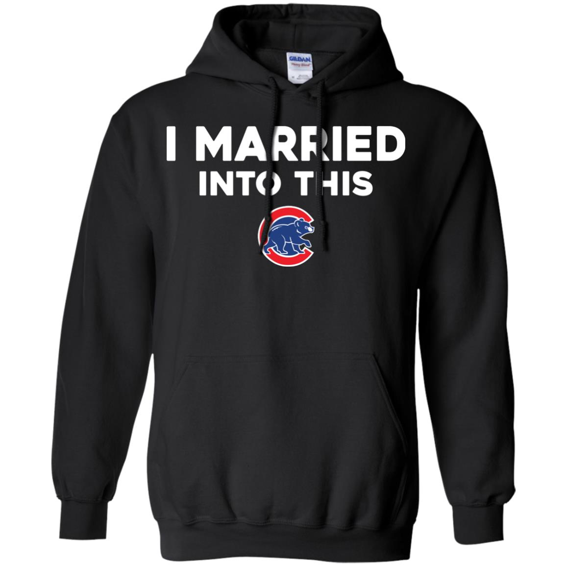 image 25px Chicago Cubs: I Married Into This T Shirts, Hoodies, Tank Top