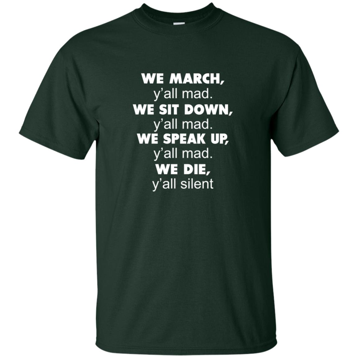 image 259px Lebron James: We March Y'all Mad, We Sit Down Y'all Mad T Shirts, Hoodies