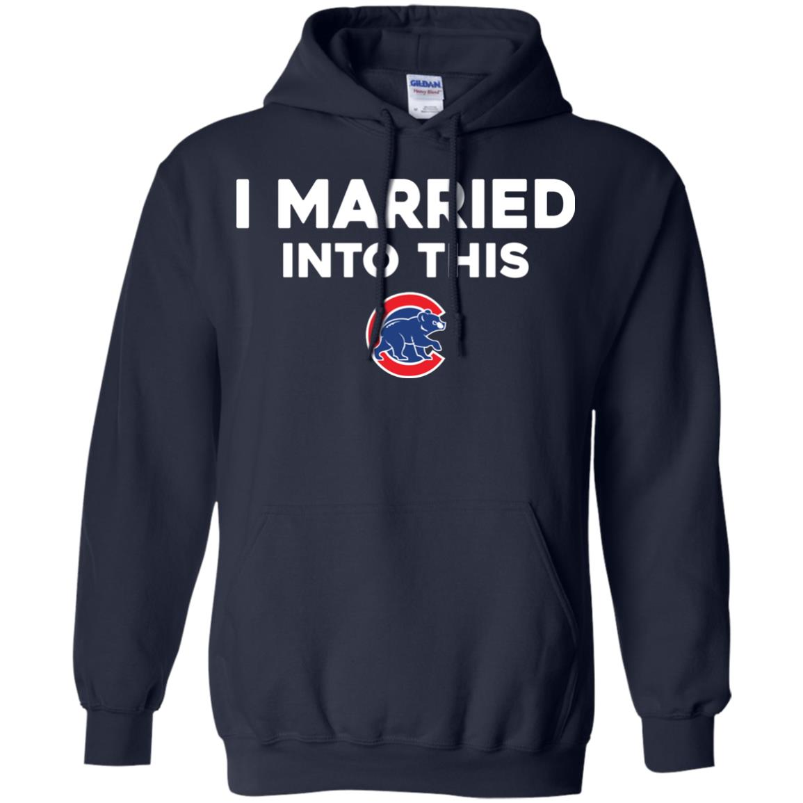 image 26px Chicago Cubs: I Married Into This T Shirts, Hoodies, Tank Top