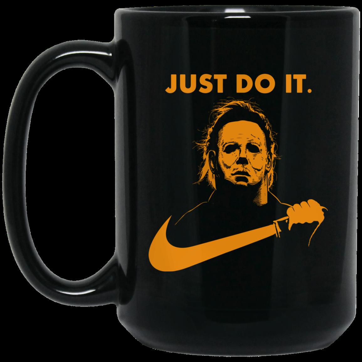 image 26px Michael Myers Halloween Just Do It Coffee Mug