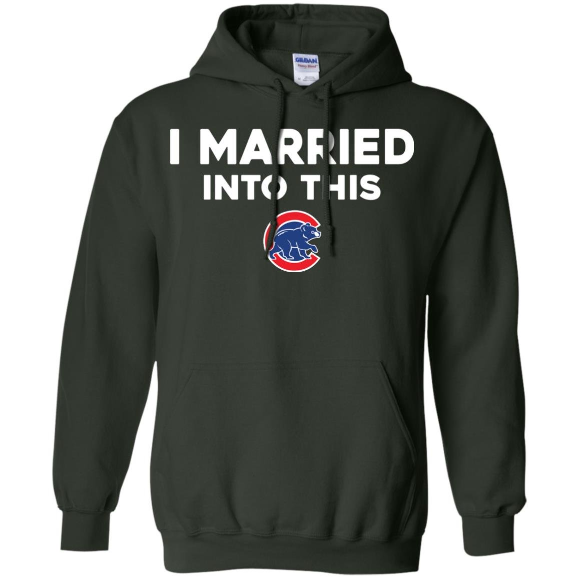 image 27px Chicago Cubs: I Married Into This T Shirts, Hoodies, Tank Top