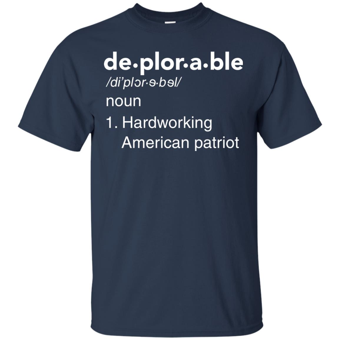image 285px Deplorable Definition: Hardworking American Patriot Unisex T Shirts
