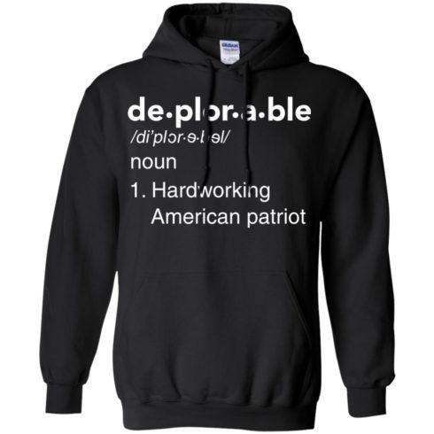 image 289 490x490px Deplorable Definition: Hardworking American Patriot Unisex T Shirts