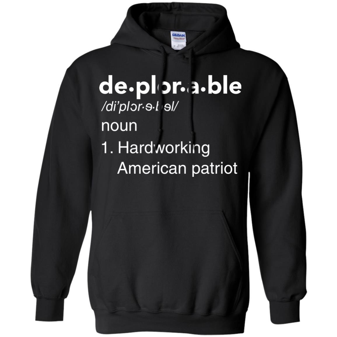 image 289px Deplorable Definition: Hardworking American Patriot Unisex T Shirts