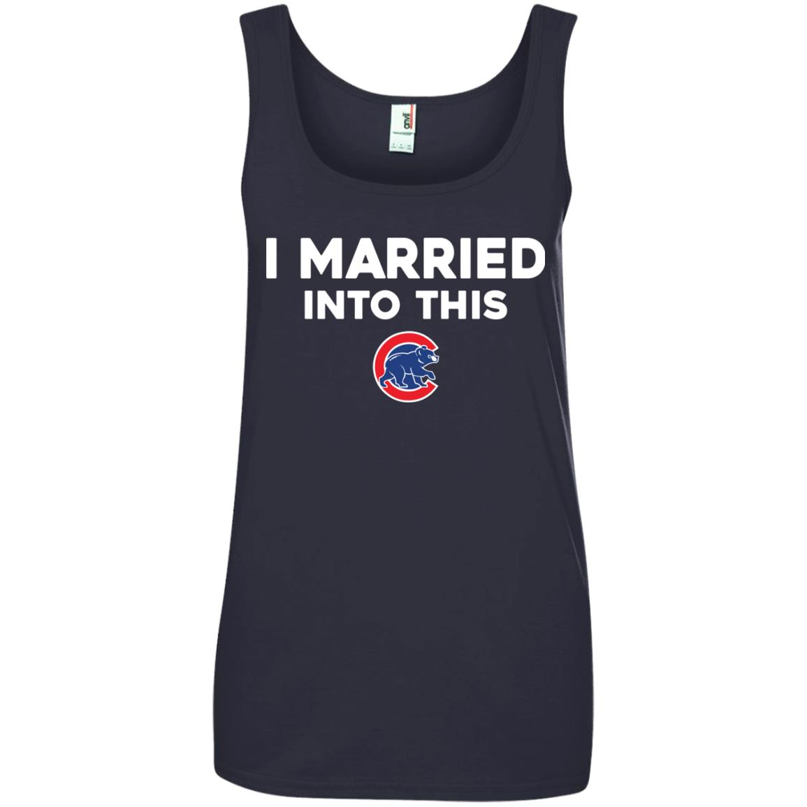 image 29px Chicago Cubs: I Married Into This T Shirts, Hoodies, Tank Top