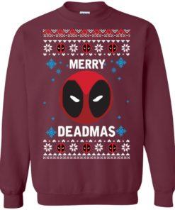 image 296 247x296px Merry Deadmas DeadPool Christmas Sweater