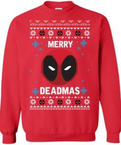 image 298 247x296px Merry Deadmas DeadPool Christmas Sweater