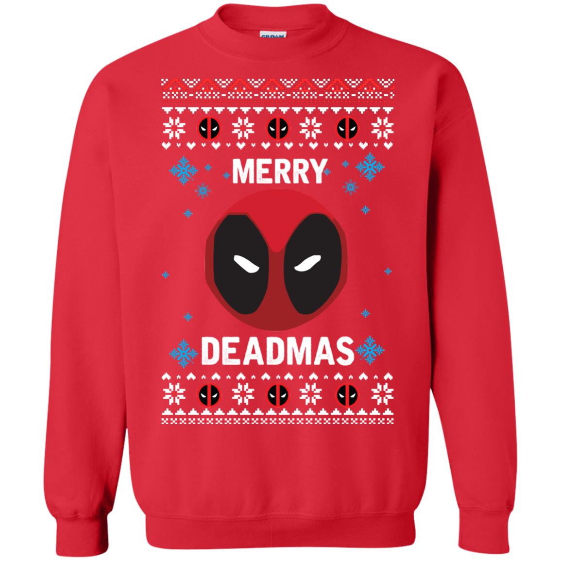 image 298px Merry Deadmas DeadPool Christmas Sweater