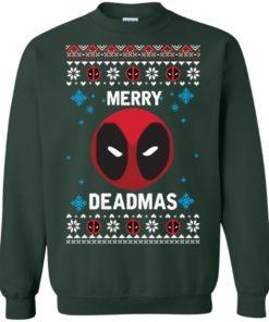 image 299 247x296px Merry Deadmas DeadPool Christmas Sweater
