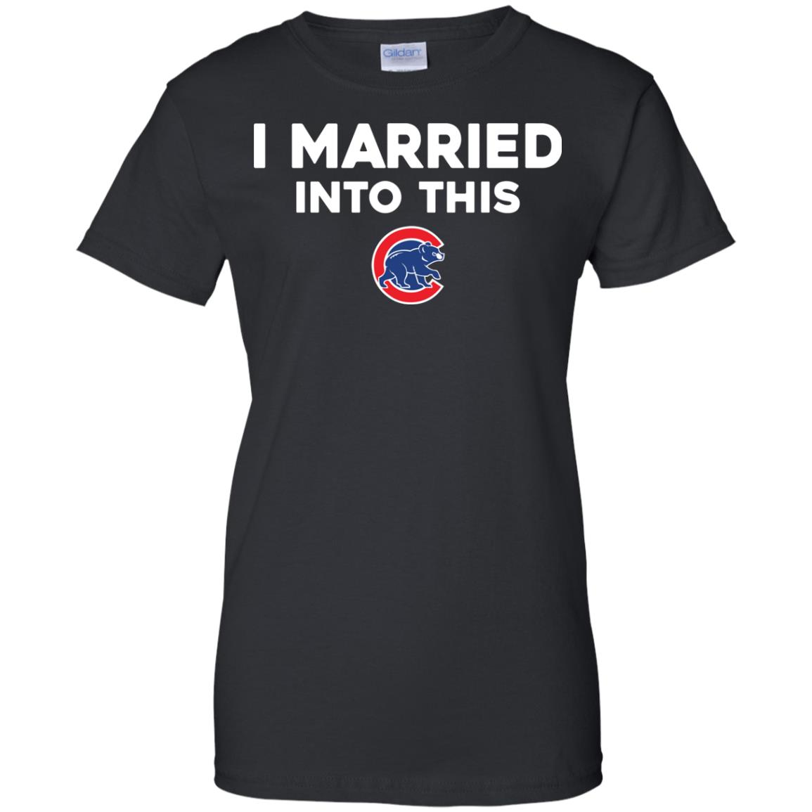 image 30px Chicago Cubs: I Married Into This T Shirts, Hoodies, Tank Top