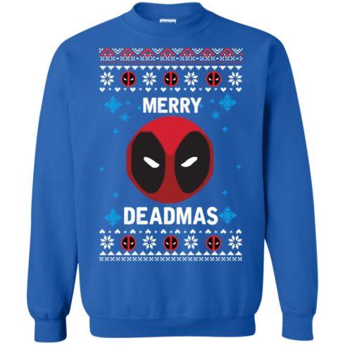 image 300 490x490px Merry Deadmas DeadPool Christmas Sweater