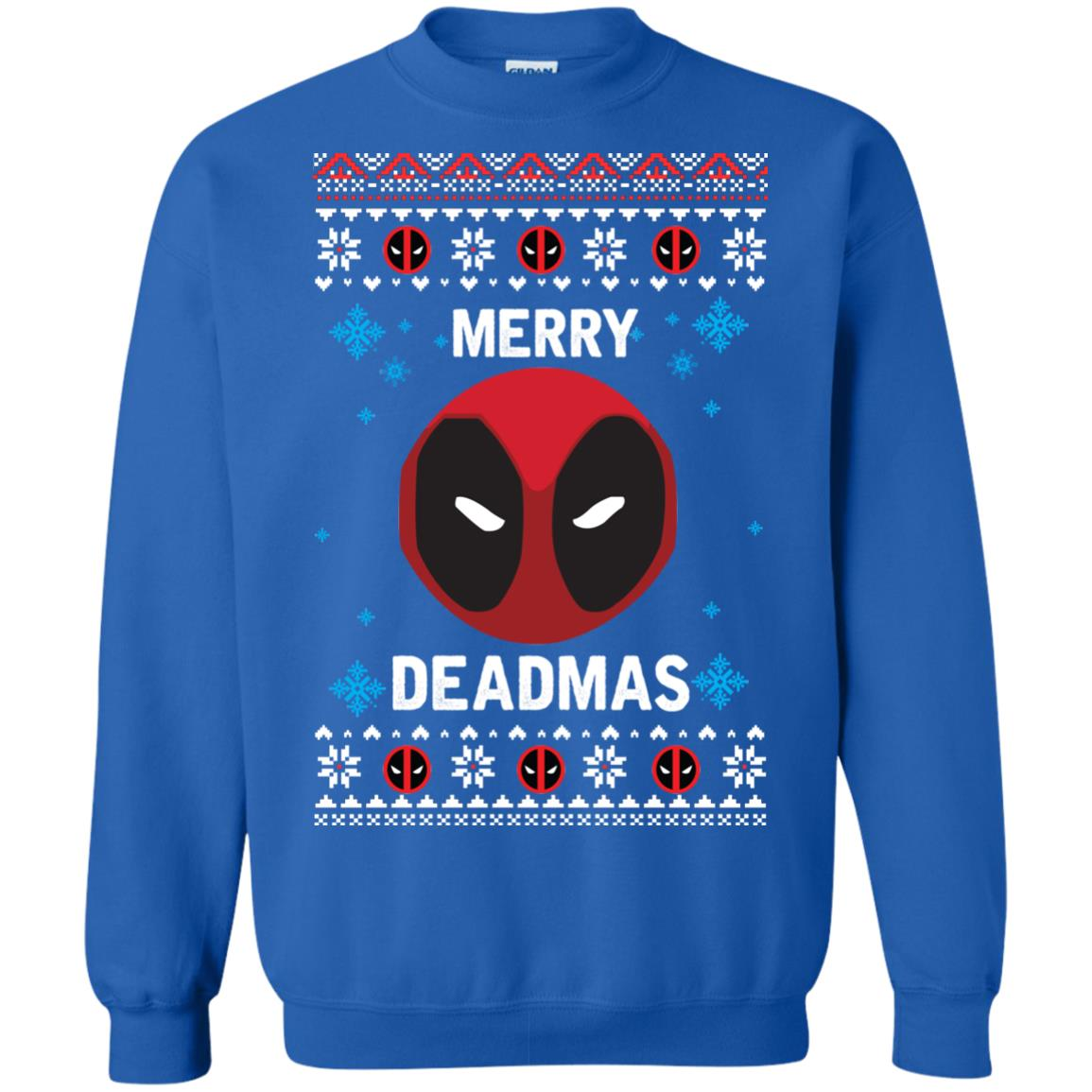 image 300px Merry Deadmas DeadPool Christmas Sweater