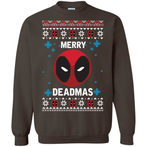 image 301 490x490px Merry Deadmas DeadPool Christmas Sweater