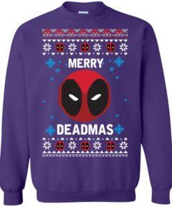 image 302 247x296px Merry Deadmas DeadPool Christmas Sweater