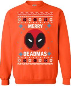 image 303 247x296px Merry Deadmas DeadPool Christmas Sweater