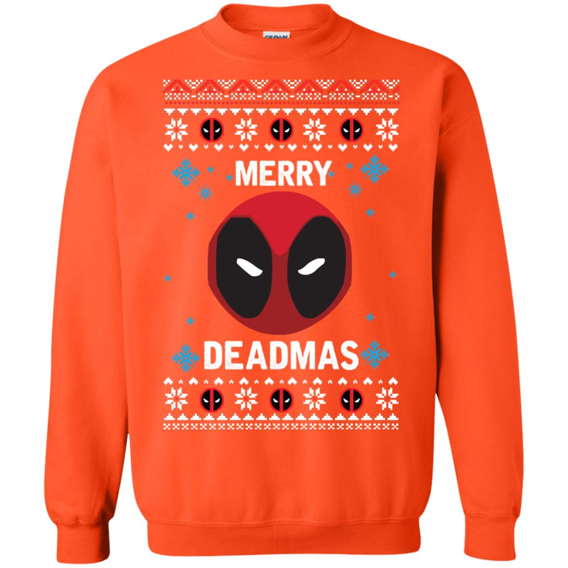 image 303px Merry Deadmas DeadPool Christmas Sweater