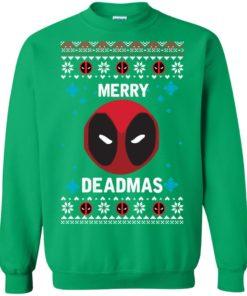 image 304 247x296px Merry Deadmas DeadPool Christmas Sweater