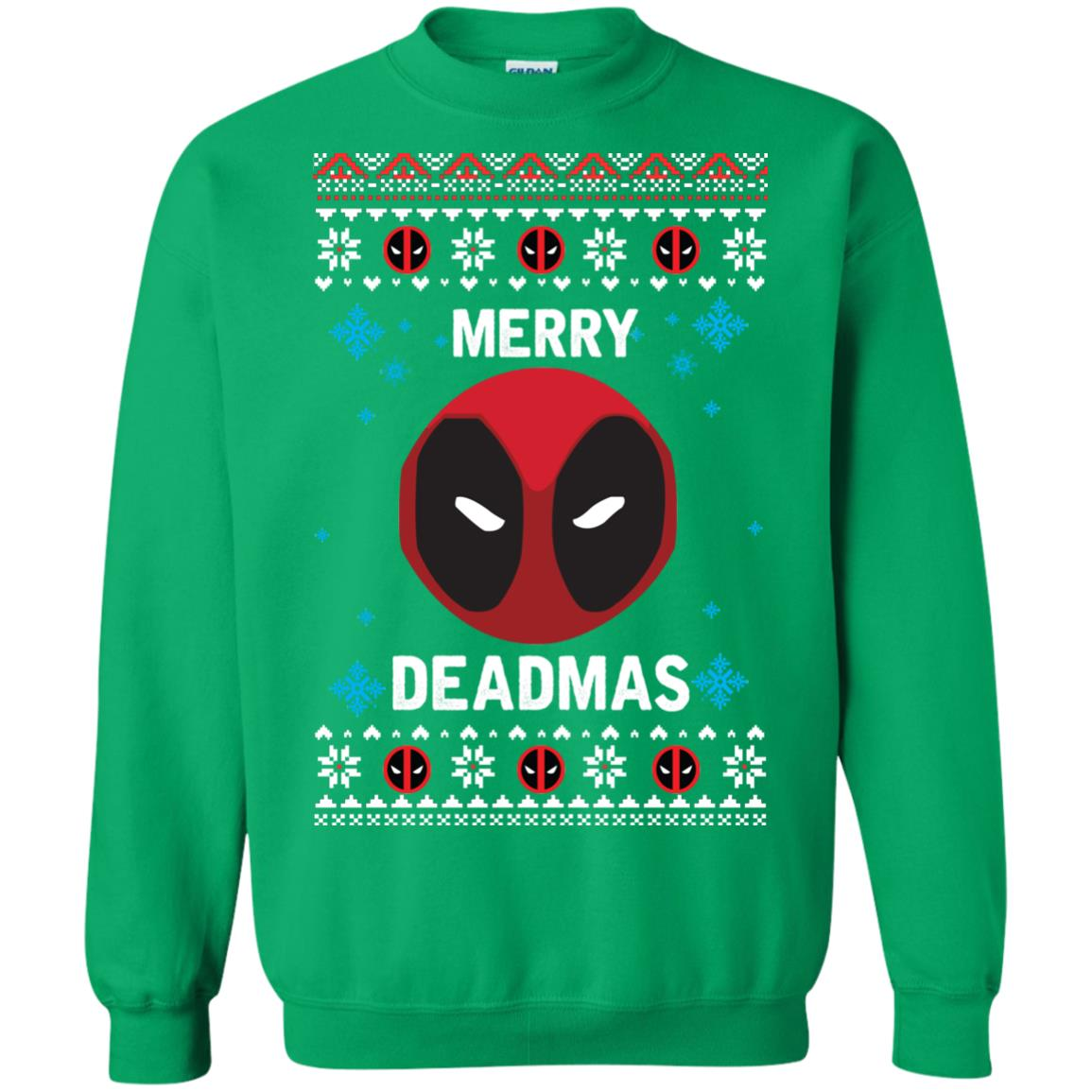 image 304px Merry Deadmas DeadPool Christmas Sweater