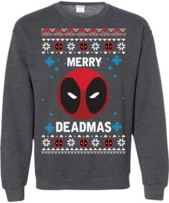 image 305 247x296px Merry Deadmas DeadPool Christmas Sweater