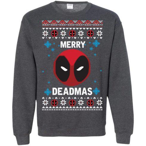 image 305 490x490px Merry Deadmas DeadPool Christmas Sweater