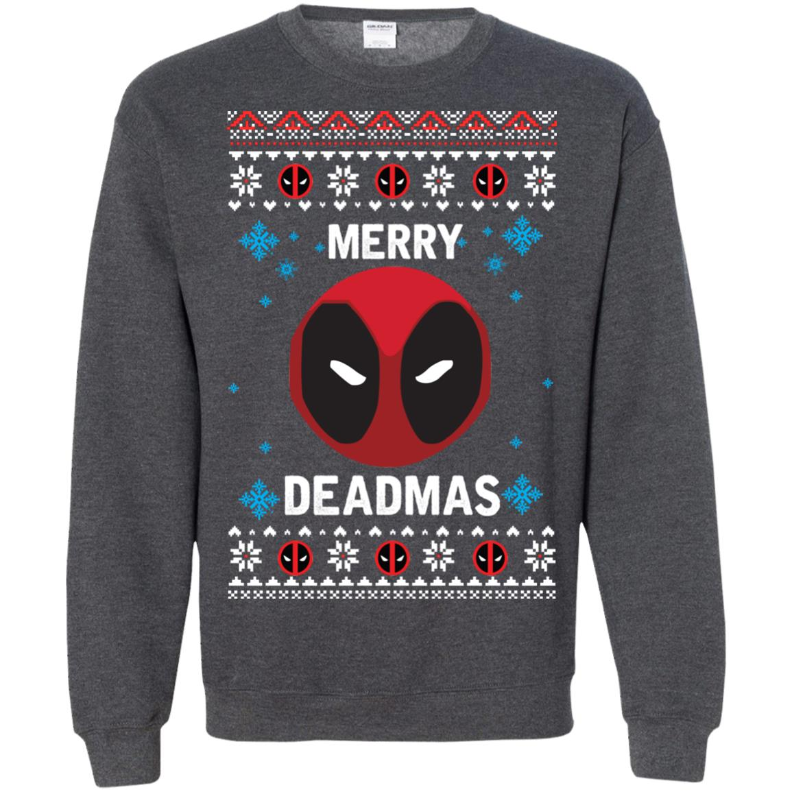 image 305px Merry Deadmas DeadPool Christmas Sweater