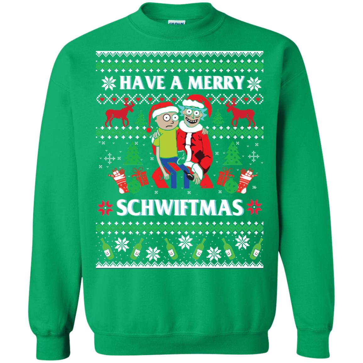 image 315px Rick and Morty: Have A Merry Schwiftmas Christmas Sweater