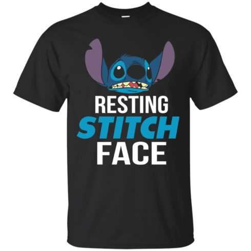 image 317 490x490px Resting Stitch Face Disney T Shirts, Hoodies, Sweater