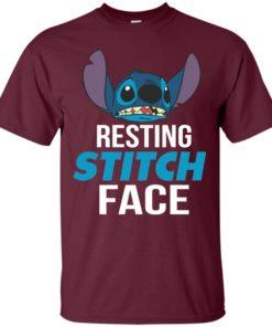image 318 247x296px Resting Stitch Face Disney T Shirts, Hoodies, Sweater