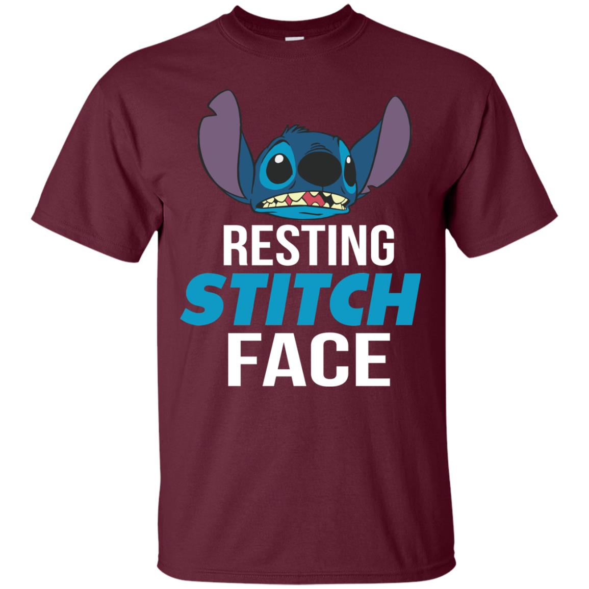 image 318px Resting Stitch Face Disney T Shirts, Hoodies, Sweater