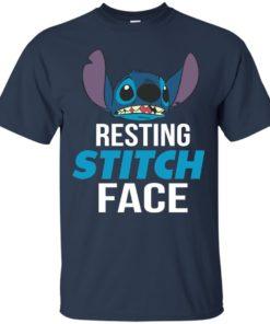 image 319 247x296px Resting Stitch Face Disney T Shirts, Hoodies, Sweater