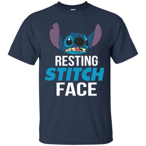 image 319 490x490px Resting Stitch Face Disney T Shirts, Hoodies, Sweater
