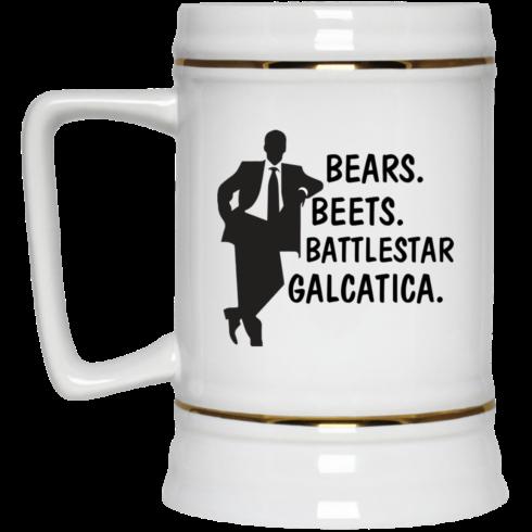 image 32 490x490px Bears Beets Battlestar Galactica The Office Coffee Mug