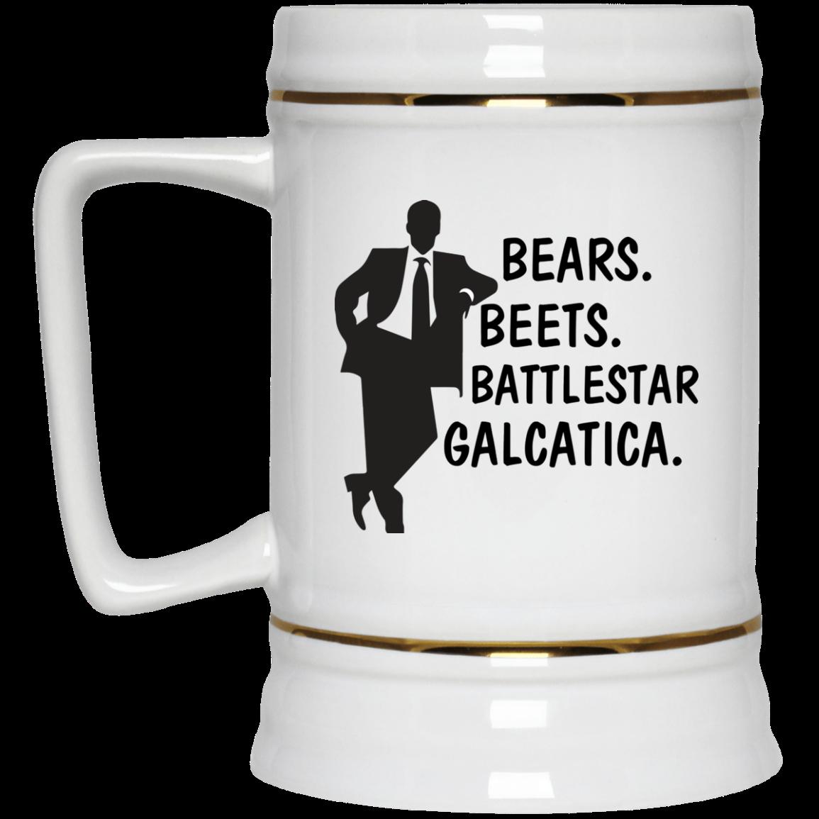 image 32px Bears Beets Battlestar Galactica The Office Coffee Mug